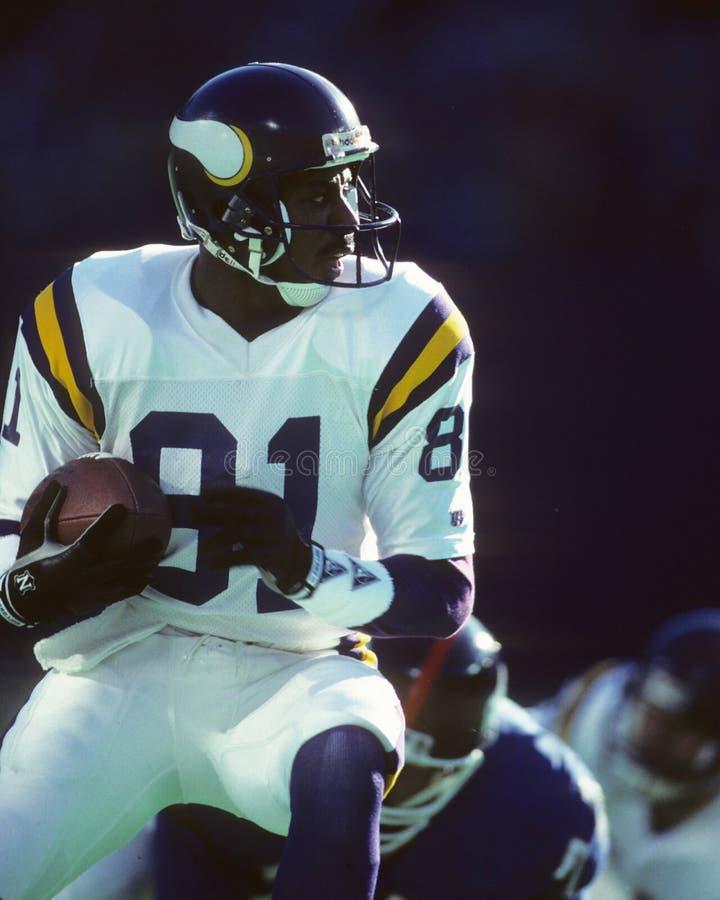 Anthony Carter, Minnesota Vikings fotografia de stock royalty free