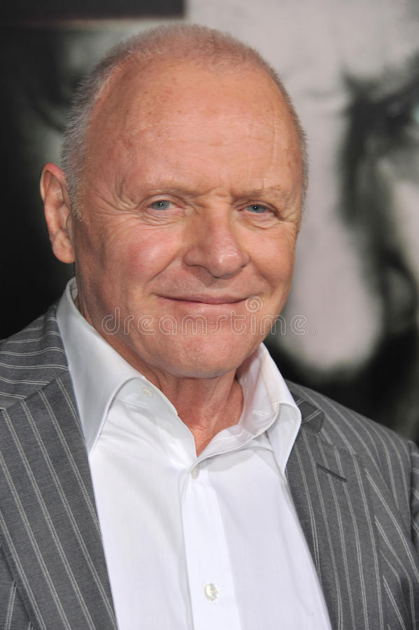 Anthony Hopkins, Sir Anthony Hopkins zdjęcia stock