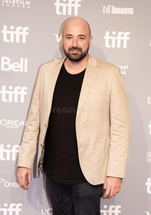 Anthony Maras, Directeur van Hotel Mumbai bij première bij Internationaal de Filmfestival 2018 van Toronto stock fotografie