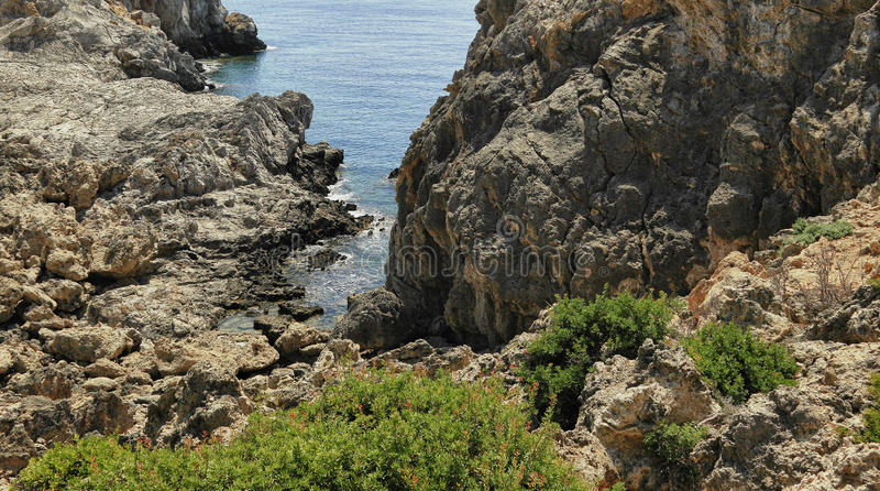 Download Anthony Quinn Bay stock image. Image of dune, mediterranean - 20629703