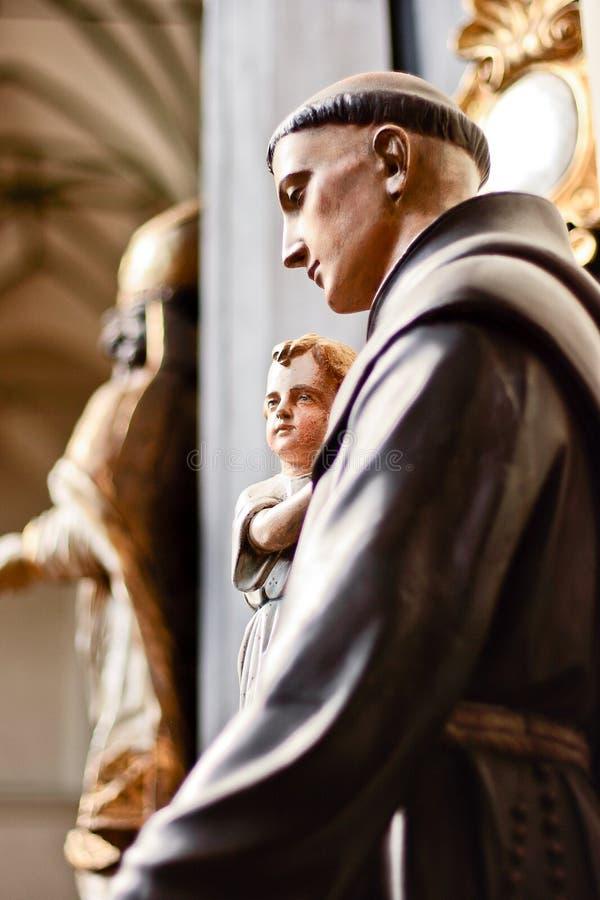 Anthony santo. immagini stock