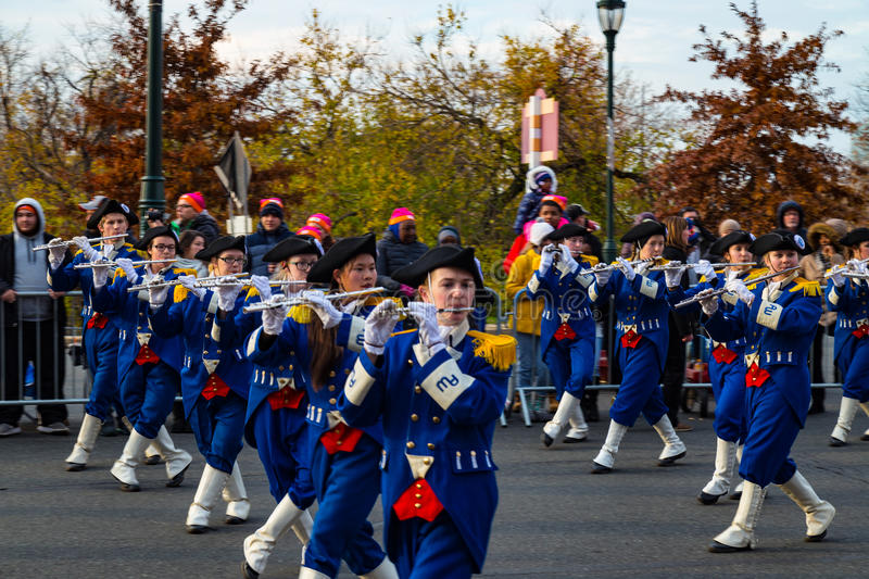 Anthony Wayne Marching Generals Fifes stock fotografie
