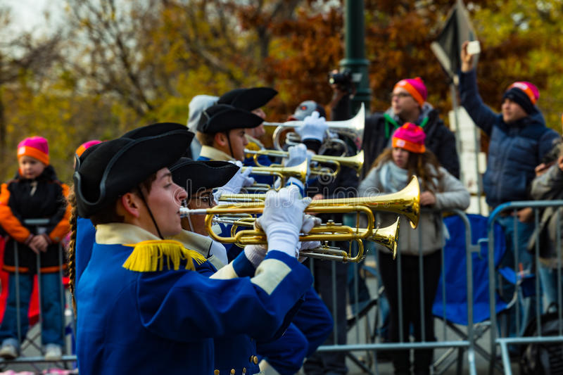 Anthony Wayne Marching Generals Trumpets foto de archivo