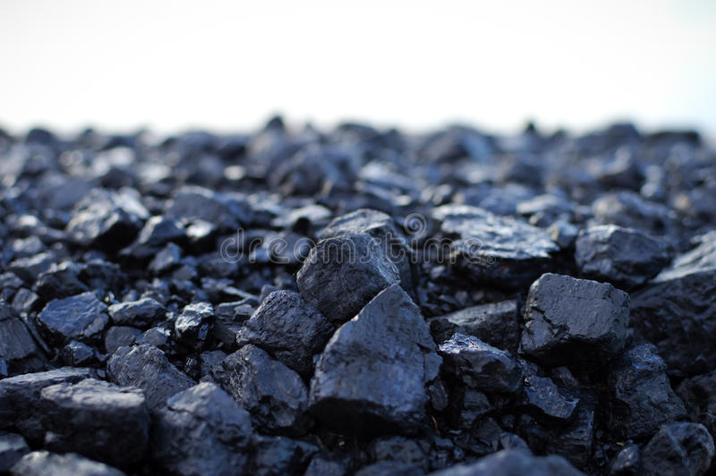 Anthracite coal royalty free stock photography