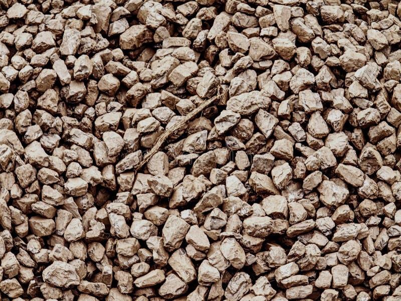 Anthracite extrait et enrichi de charbon Pile de charbon images libres de droits