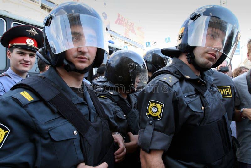 anti протест kremlin moscow стоковое изображение rf