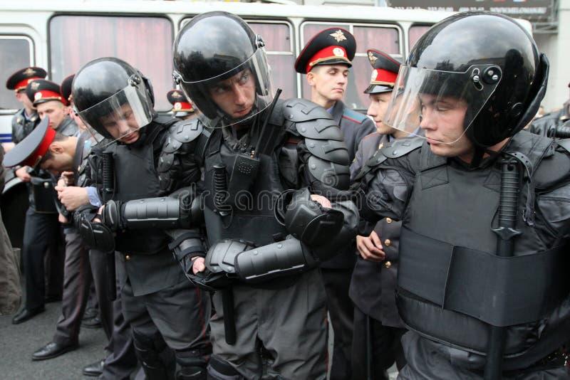anti ралли kremlin moscow стоковое фото