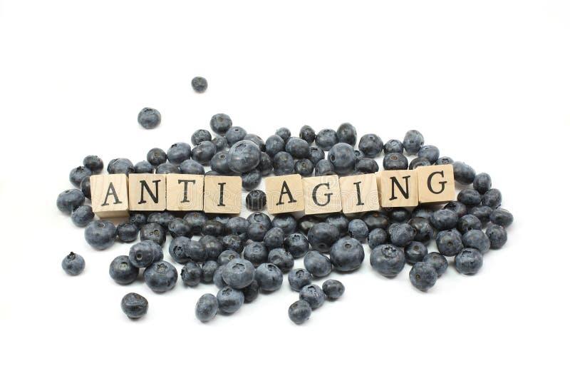 Anti Aging Blueberries royalty free stock photos