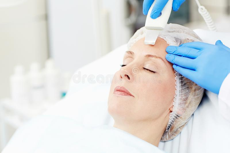 Anti-aging care stock photos