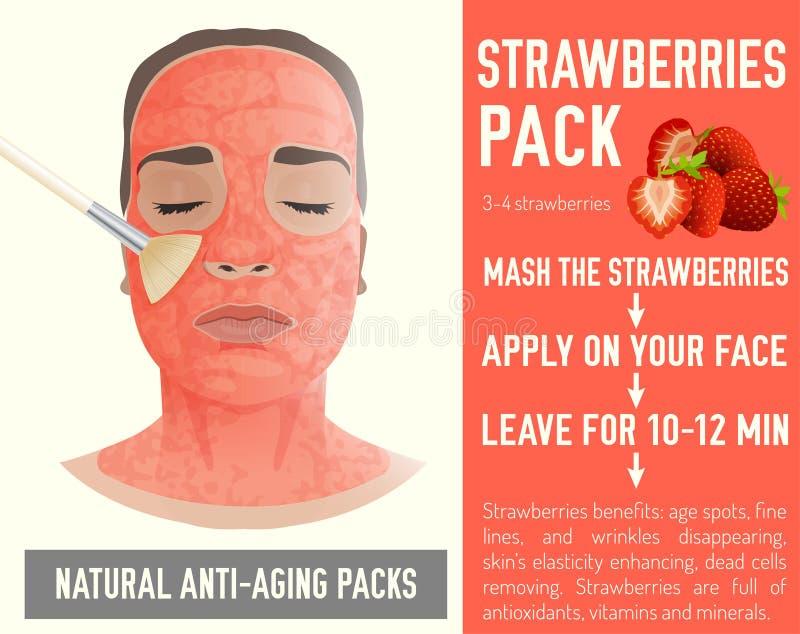 face pack for anti wrinkles