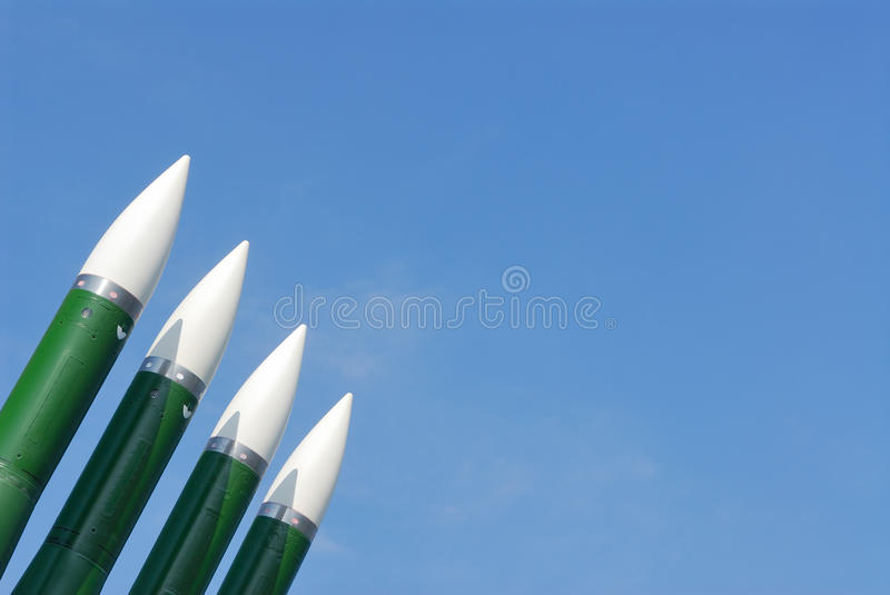 Download Anti-aircraft Defence System. Rockets Stock Photo - Image: 13669682