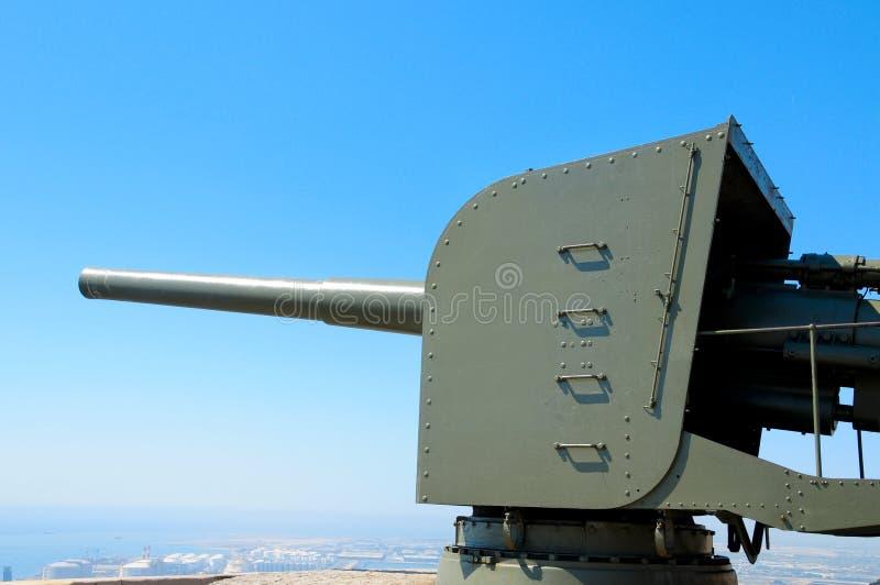 Anti-aircraft Gun Royalty Free Stock Image