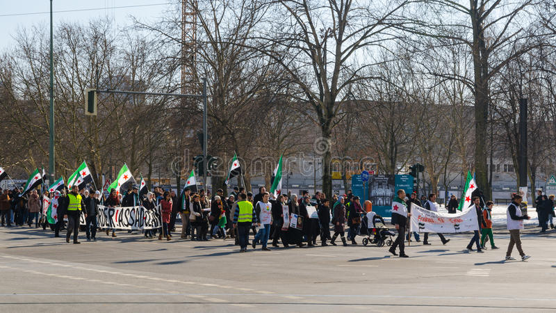 Download Anti-Assad Opposition Demonstration Against Ruling Regime Of Bas Editorial Photo - Image: 34684976