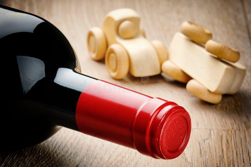 Anti-bebida que conduce concepto imagen de archivo libre de regalías