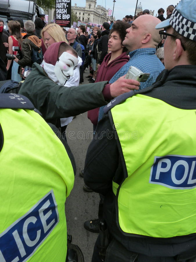 Download Anti-BNP Marchers editorial photo. Image of worker, anti - 31362991