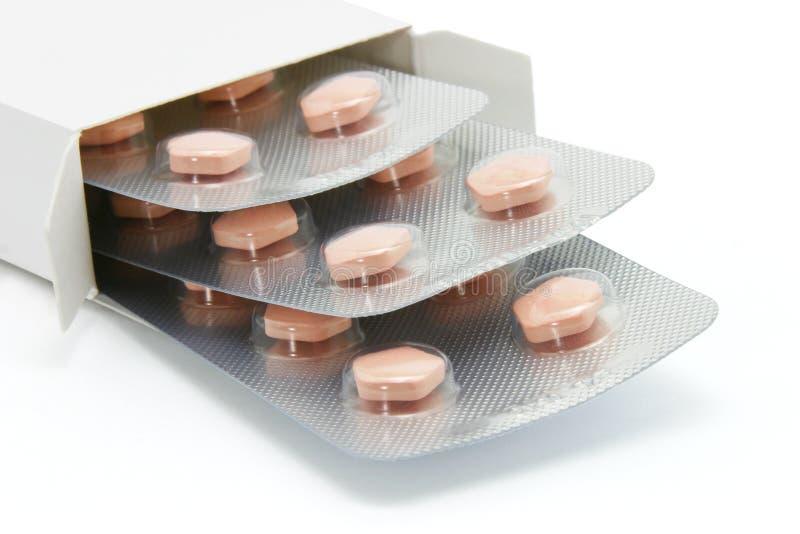 Anti cardiovasculair ziektemedicijn royalty-vrije stock afbeeldingen
