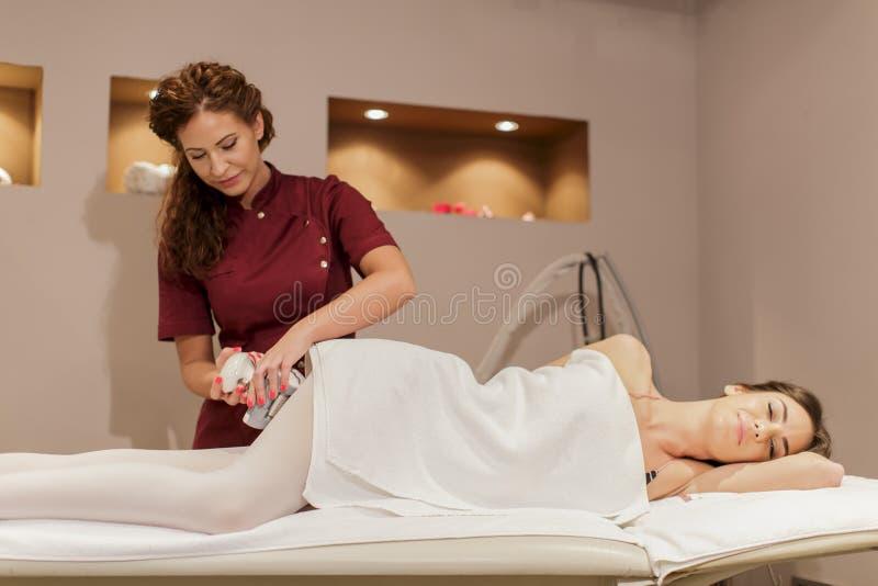 Anti cellulite treatment royalty free stock image