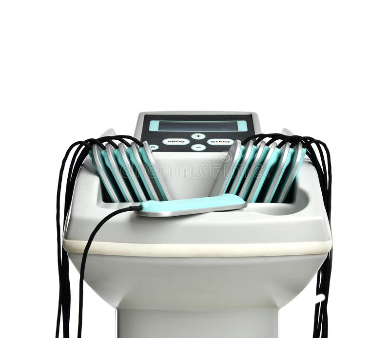 Anti-cellulites et anti-grosse machine de thérapie pour la cavitation serrée d'ultrason de fesses images libres de droits