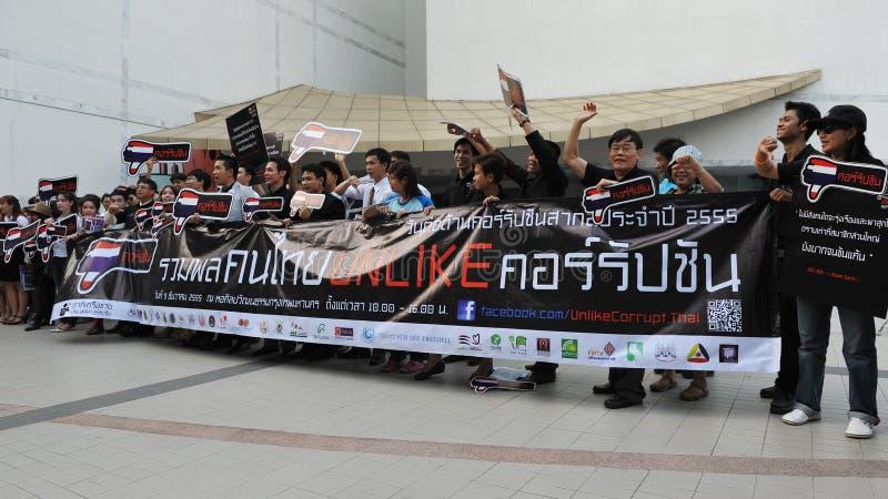 Anti-corruptie Verzameling in Bangkok