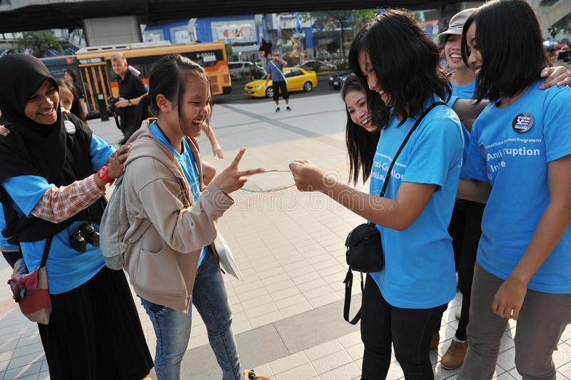 Download Anti-Corruption Rally In Bangkok Editorial Photography - Image: 28118682