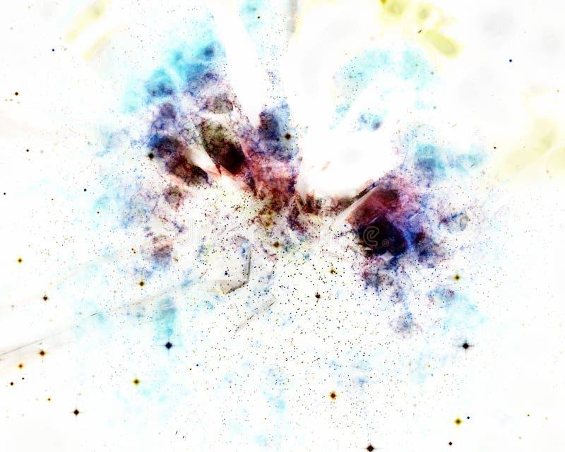Anti cosmos de matière illustration stock