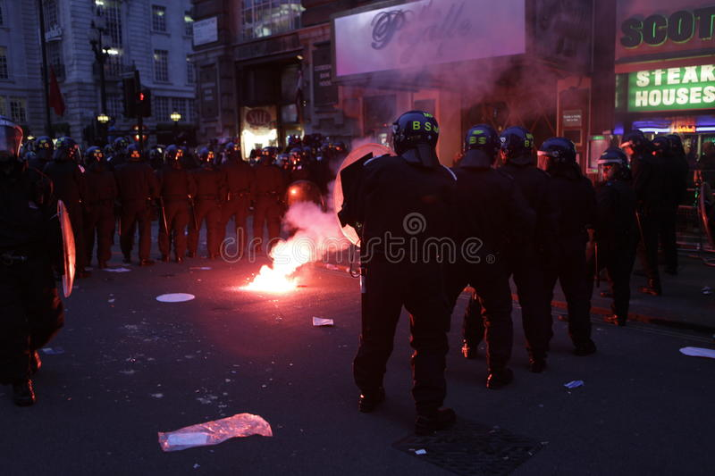 Download ANTI-CUTS Protest IN LONDON Editorial Photo - Image: 20638731