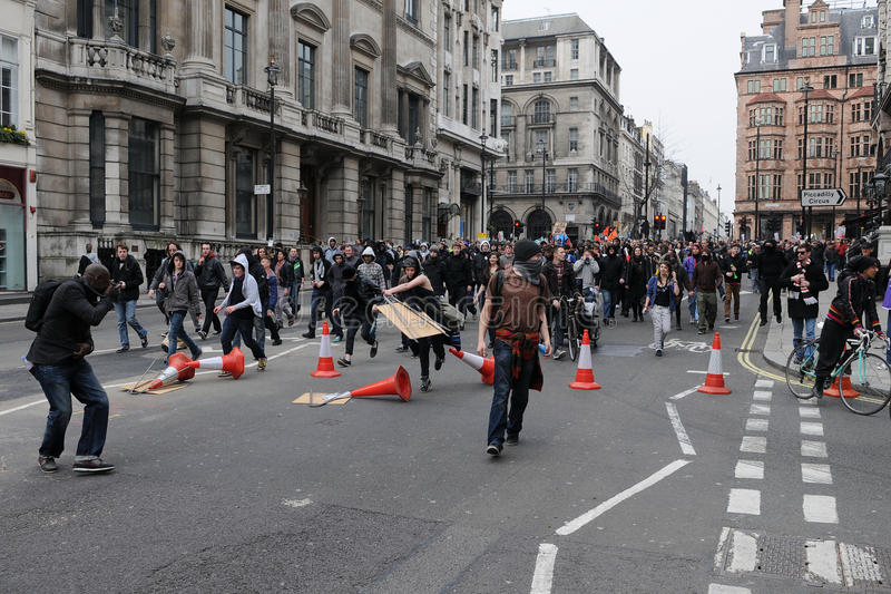 Download Anti-Cuts Protest In London Editorial Image - Image: 20679835