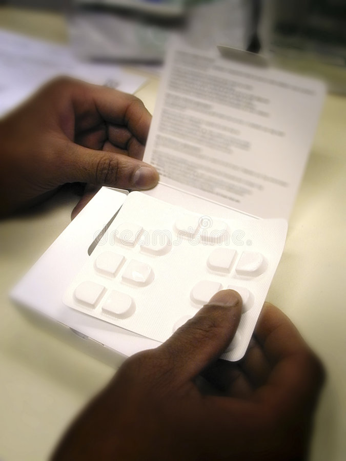 Download Anti Depressant Tablets In Pharmacy Stock Image - Image: 1301751