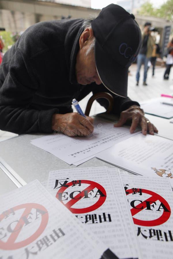 Anti-ECFA Editorial Photo