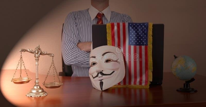 Anti-globale Bewegung lizenzfreies stockbild