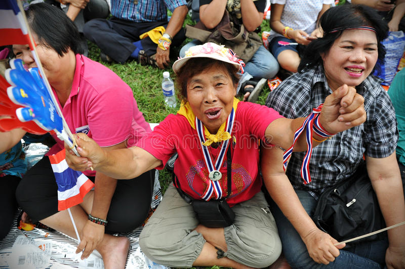 Download Anti-Government Rally In Bangkok Editorial Photography - Image: 27630502