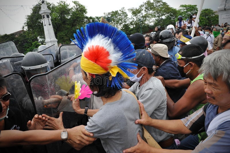 Download Anti-Government Rally In Bangkok Editorial Stock Image - Image: 27885054