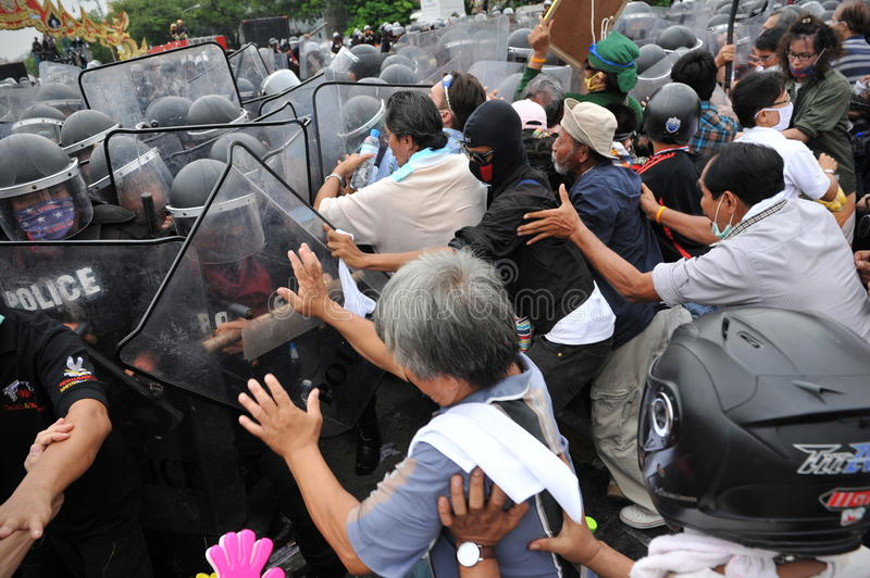 Download Anti-Government Rally In Bangkok Editorial Stock Photo - Image: 27885103