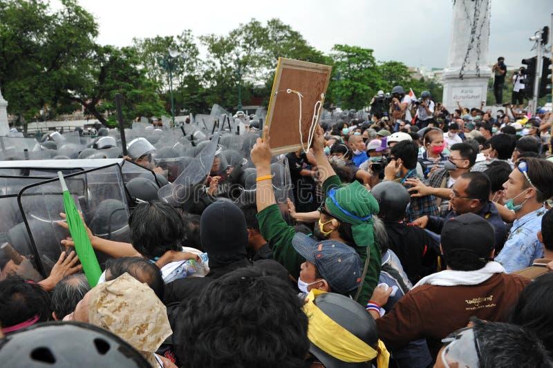 Anti-Government Rally In Bangkok Editorial Photography