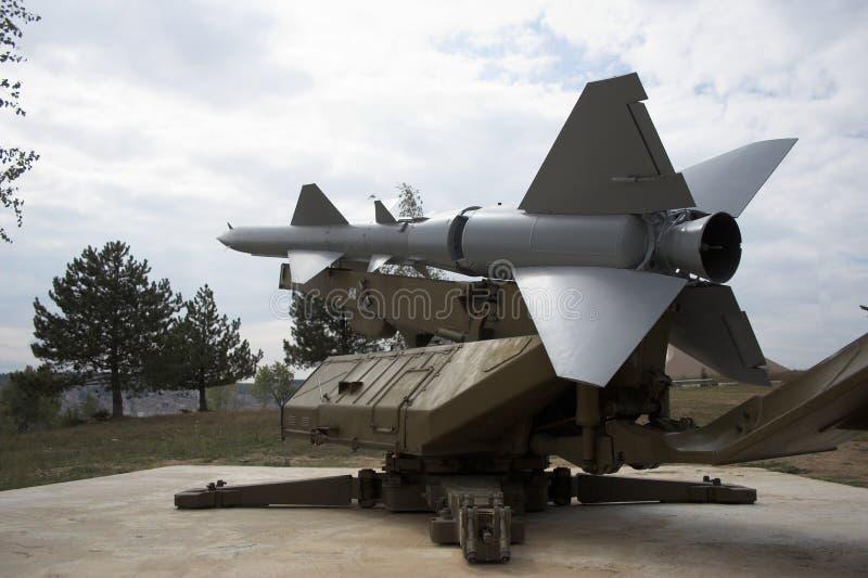 anti missil för flygplan fotografering för bildbyråer