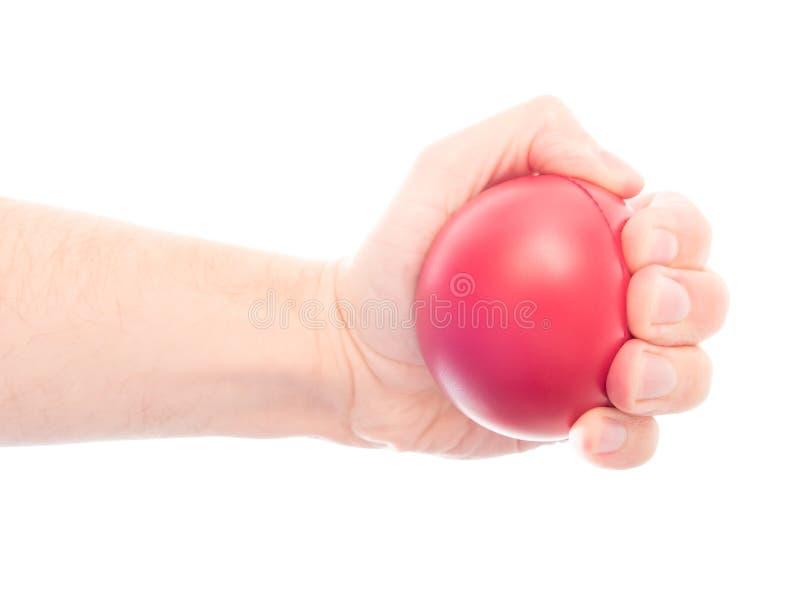 Anti palla di sforzo fotografia stock libera da diritti