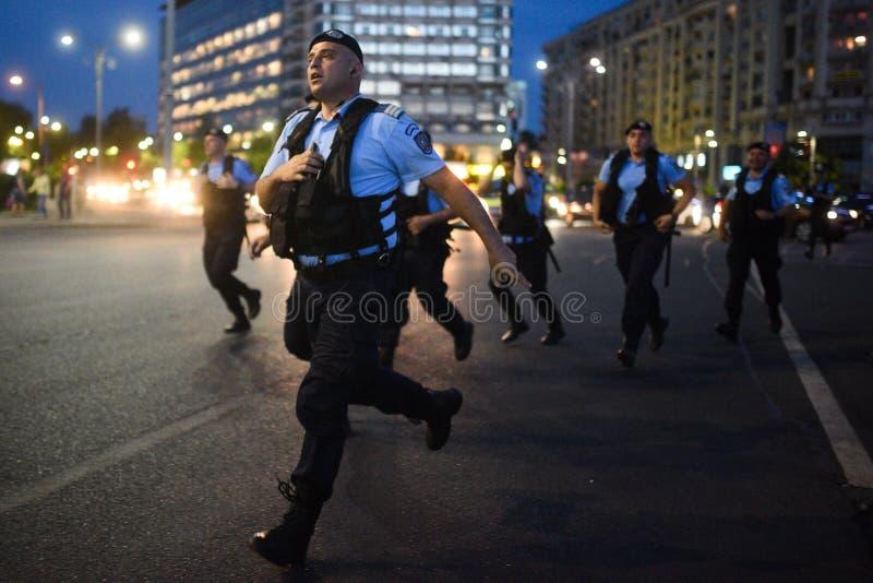 Anti protesto da corte da parte superior do ` s de Romênia, Bucareste, Romênia - 30 de maio de 20 imagem de stock royalty free