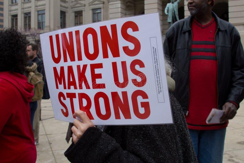 anti slå sönder samlar union fotografering för bildbyråer