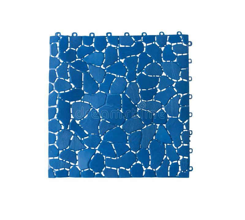 Anti slip plastic tile