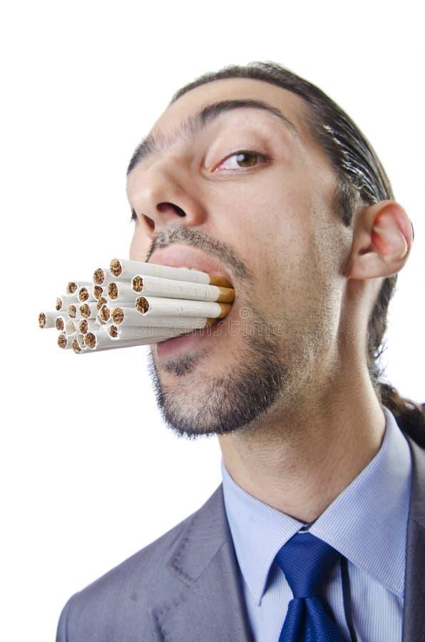 Download Anti smoking concept - man stock image. Image of face - 26050407