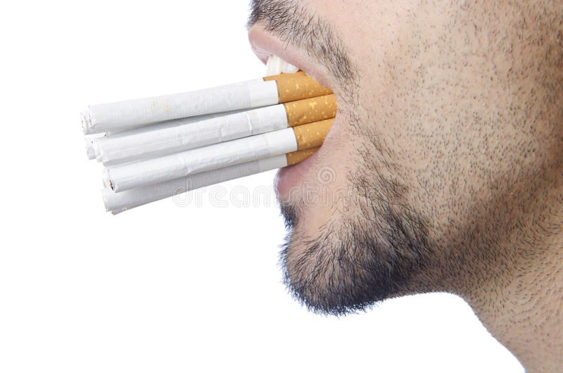 Download Anti Smoking Concept - Man Royalty Free Stock Photography - Image: 26053627