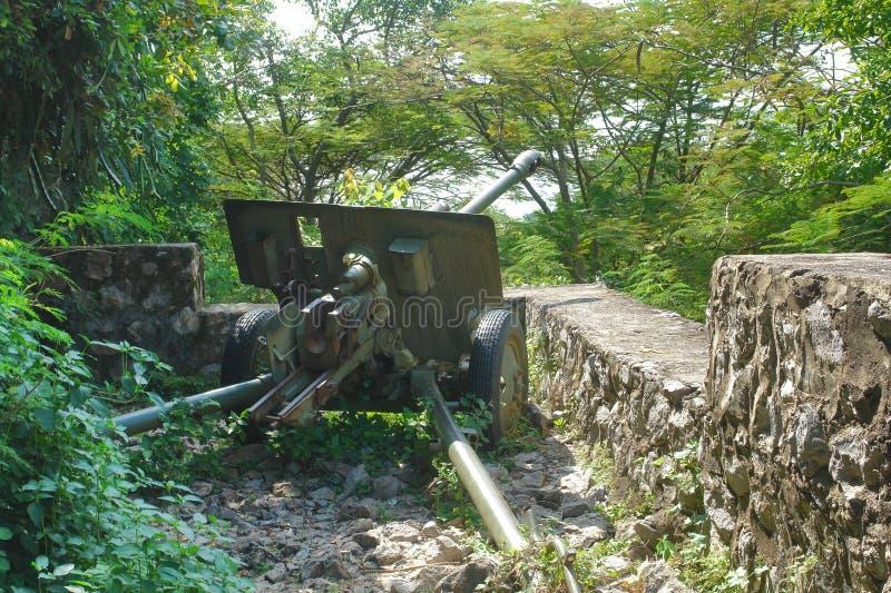 Anti-tank oorlogvoering royalty-vrije stock afbeelding