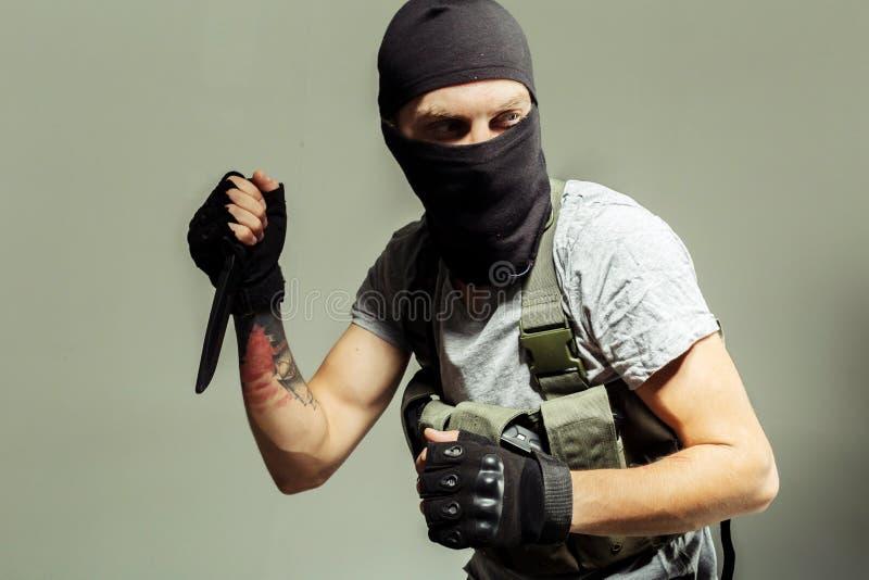 Anti terrorista foto de stock