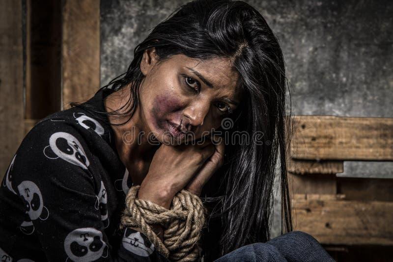 Anti Trafficking royalty free stock photo