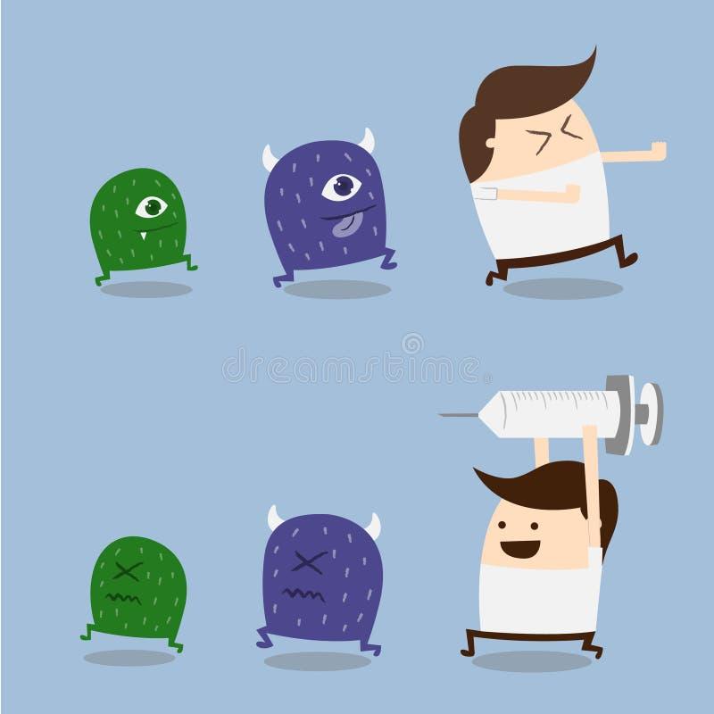 Download Anti virus stock vector. Illustration of sick, pills - 31405581