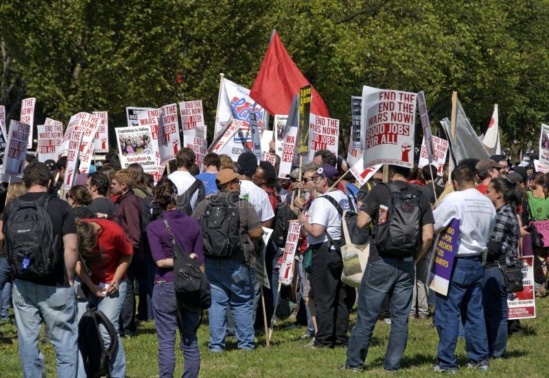 Download Union Anti-War / Pro-Employment Editorial Stock Photo - Image: 16320963