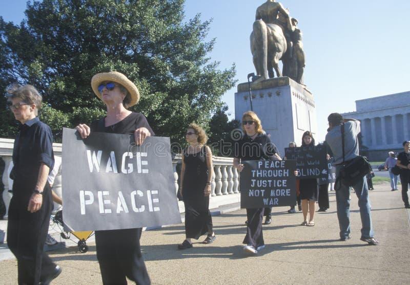 Anti-war Protester Editorial Stock Photo