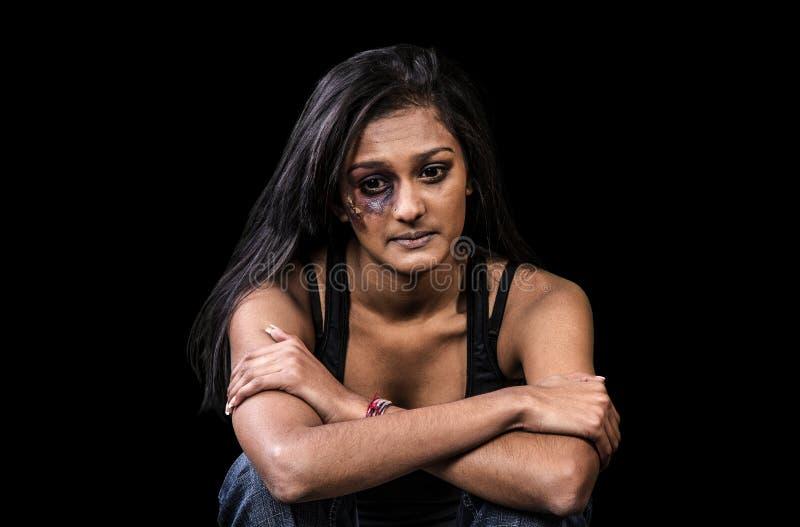 Anti Women Abuse stock photo