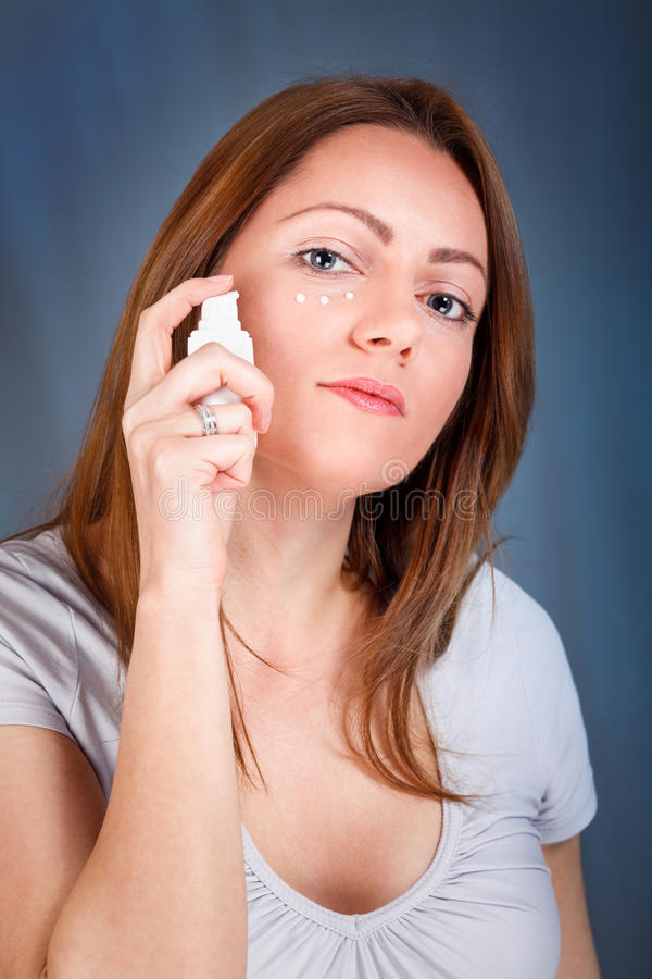 Anti-wrinkle cream stock images