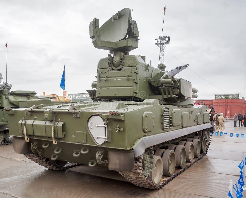 Download Antiaircraft Gun Missile System 2S6M1 Tunguska M1 Editorial Stock Photo - Image: 41906643
